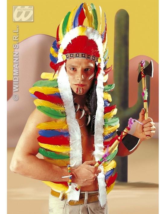 Plumas de jefe indio Widmann De cabeza