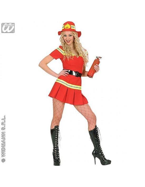 Disfraz de bombera talla m Widmann Para Mujer