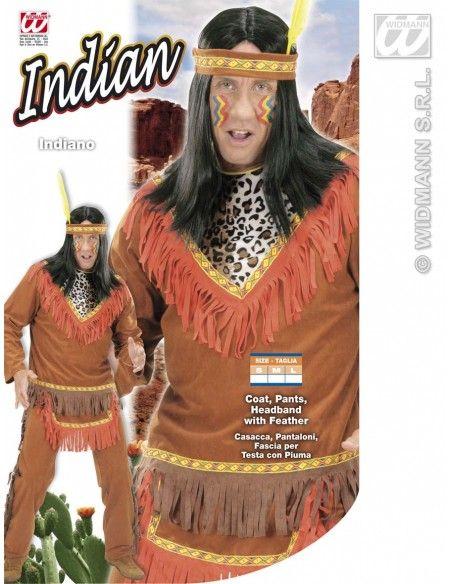 Disfraz de indio talla l Widmann Para Hombre