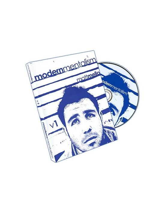 Modern mentalism vol. 1 by matt mello and paper crane magic - dvd Asdetrebol Magia Inglés