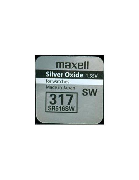 Pila de botón maxell sr516sw Maxell Pilas de Botón