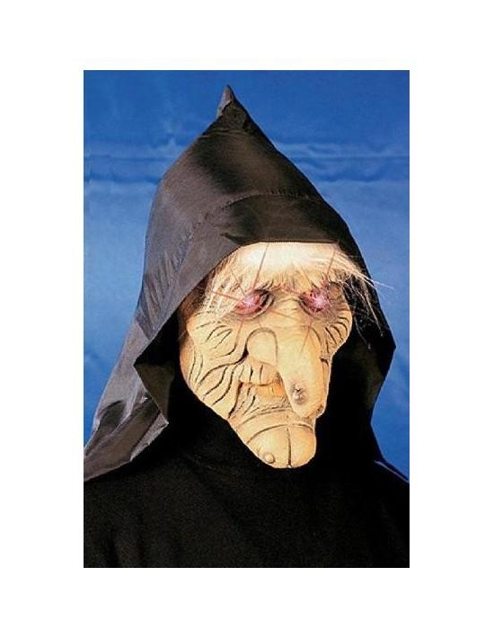 Máscara siniestra con ojos luminosos mod b Widmann Máscaras y Caretas