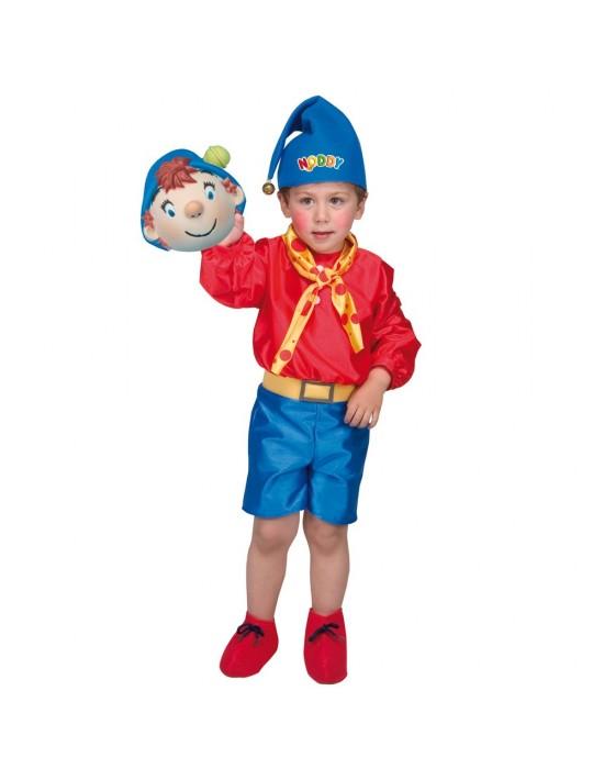 Disfraz de noddy talla 0 (1-3 años) Disfraces Josman Niño
