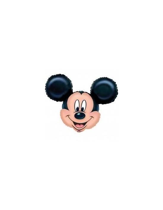 Globo foil cabeza mickey mouse Anagram Globos Foil sólidos