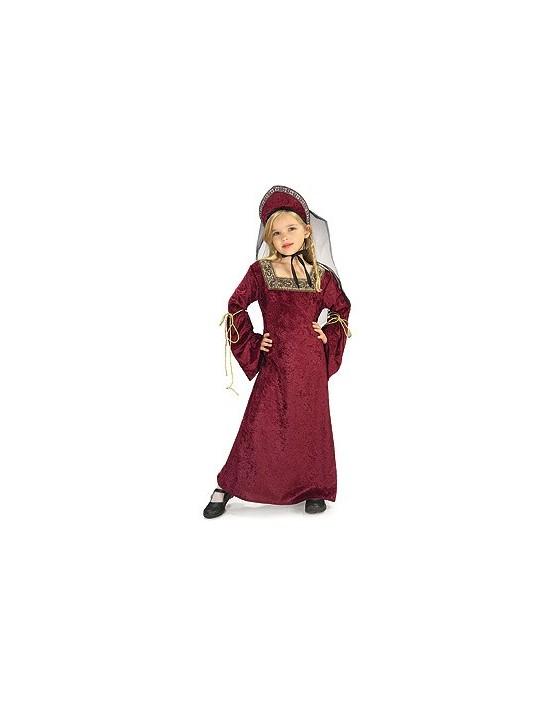 Disfraz dama de palacio medieval talla 3-4 años Rubies Niña