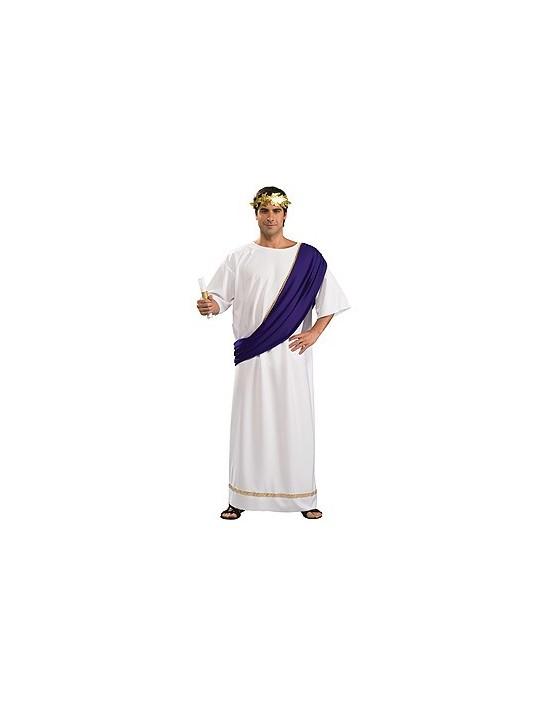 Disfraz de noble romano con tocado, adulto talla única Rubies Para Hombre