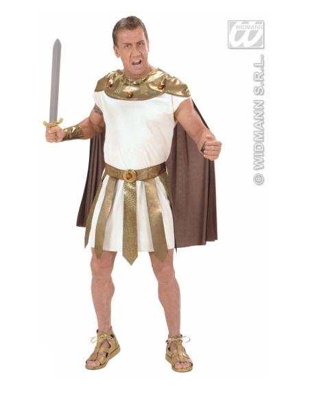 Disfraz dios romano dorado talla l Widmann Para Hombre