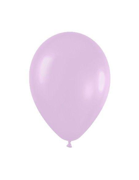 Bolsa de 50 globos sempertex r12 de 30 cm color satín lila (450) Sempertex Globos Redondos