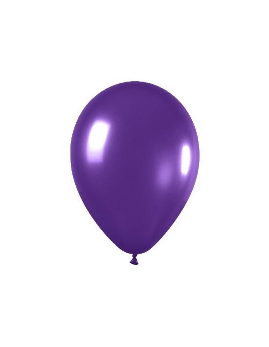 Bolsa de 50 globos sempertex r12 de 30 cm color metal violeta (551) Sempertex Globos Redondos