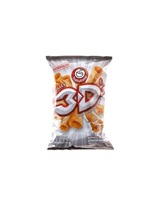 Bugles 3d bolsa 72 g Matutano Patatas fritas y snacks