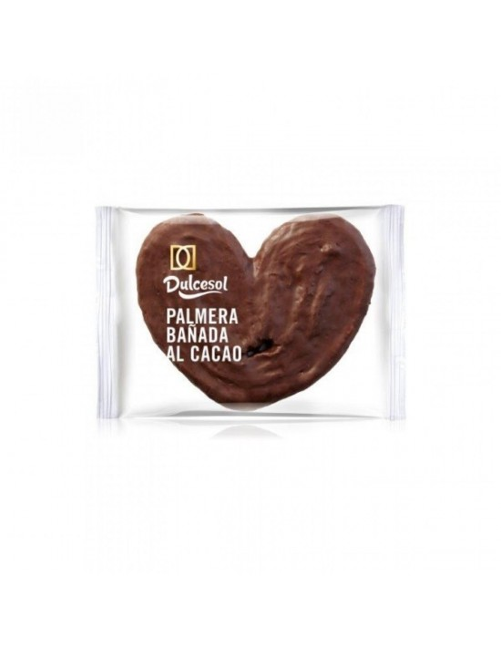 Palmera dulcesol chocolate Dulcesol Bollería