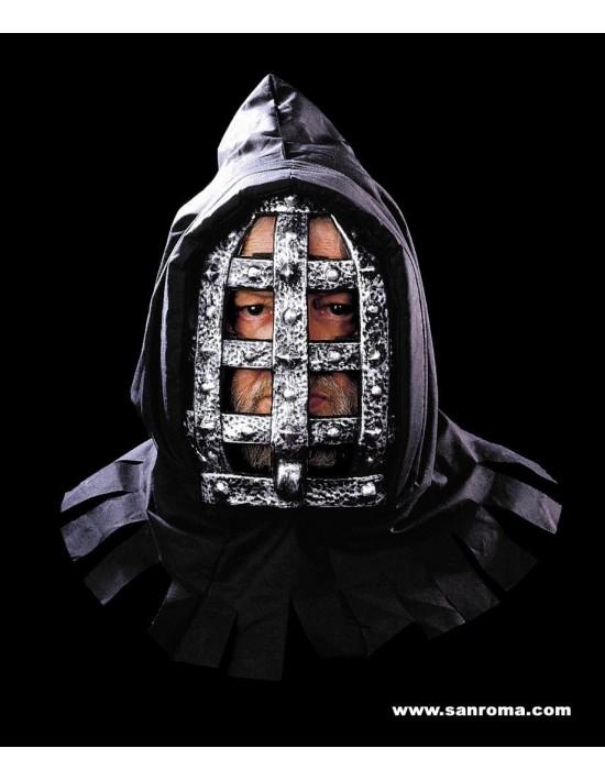 Máscara hombre de hierro con capucha S. romá Máscaras y Caretas