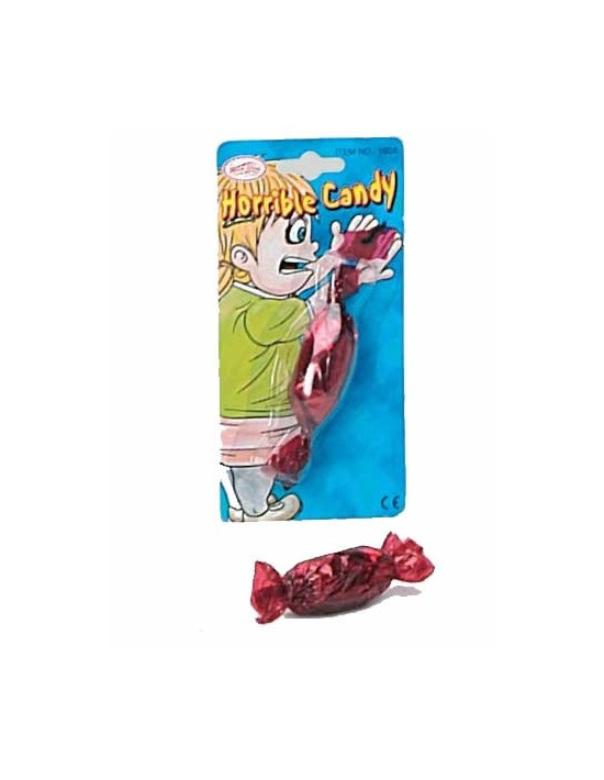 Caramelo con bicho S. romá Bromas
