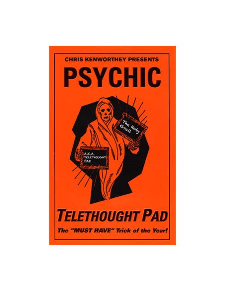 Libreta de telepensamiento por chris kenworthey (grande) Asdetrebol Magia Mentalismo