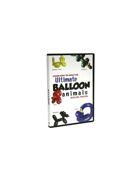 Dvd Último dvd de animales con globos y más Magic Makers Inglés