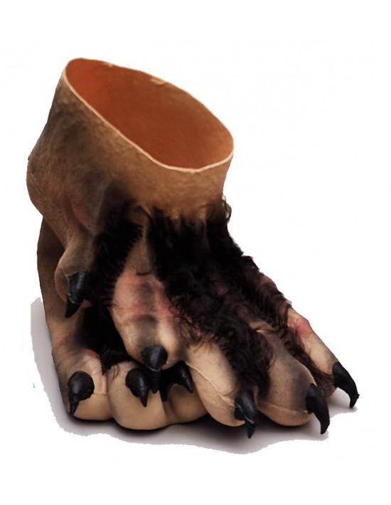 Pies monstruo con pelo S. romá Calzado