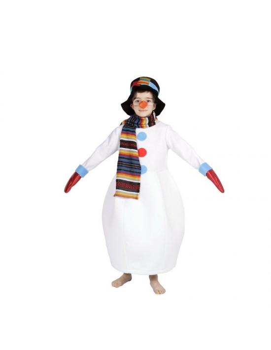Disfraz muñeco de nieve infantil (talla 3-5 años) Disfraces Nines Niño