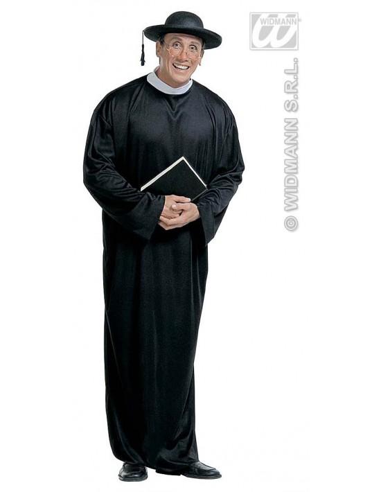 Disfraz de sacerdote talla m Widmann Para Hombre