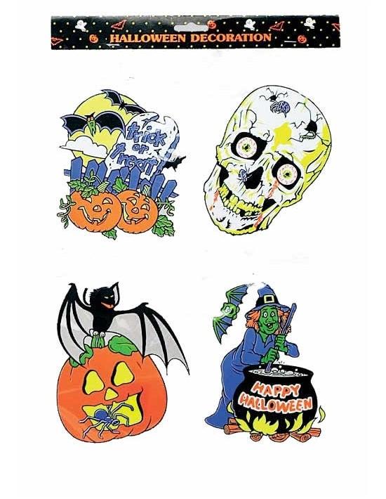 Figuras decoración halloween (4 unid) S. romá Escena Decoración