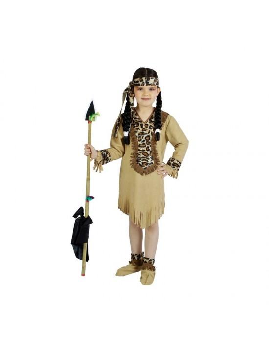 Disfraz india talla 5-7 años Disfraces Nines Niña