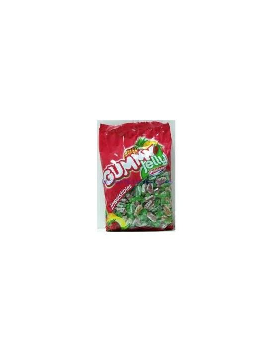 Caramelos de gominola gummy jelly bolsa de 2 kg (300 unid aprox) Lacasa Gominolas