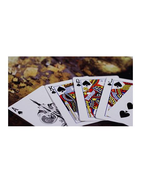 Baraja crown verde The Blue Crown Póquer