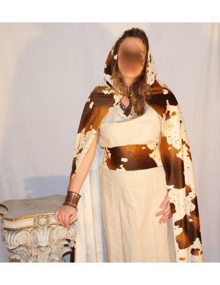 Disfraz de celta alanna Genérico Para Mujer