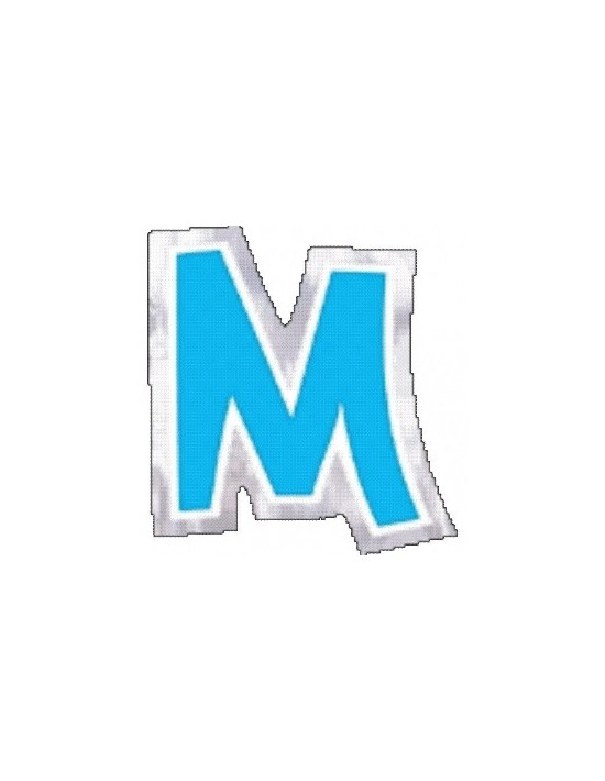 Letra m para globos Sempertex Pegatinas para globos