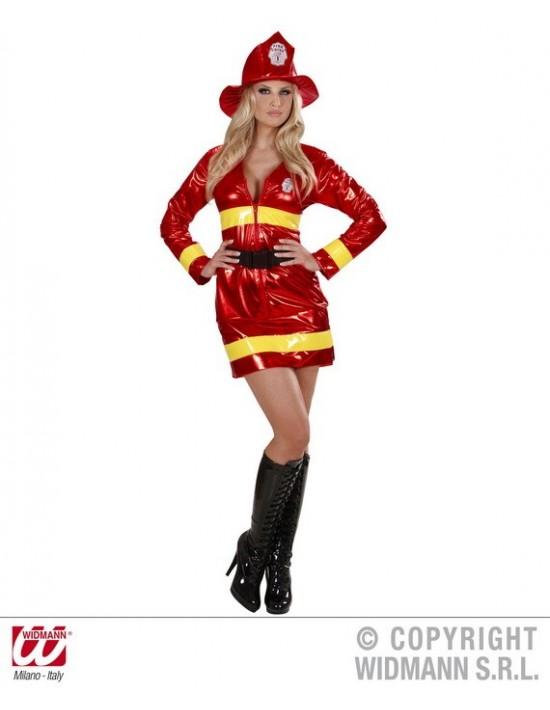 Disfraz de bombero chica talla m Widmann Para Mujer