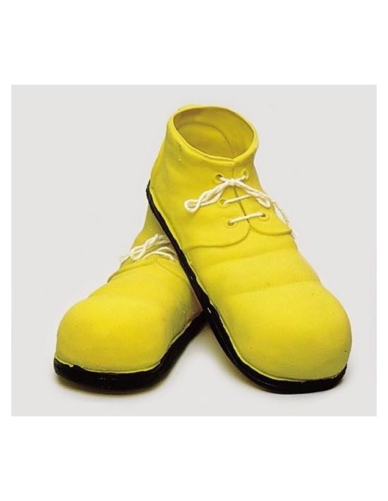Zapatos payaso 24 cm infantil amarillo S. romá Calzado