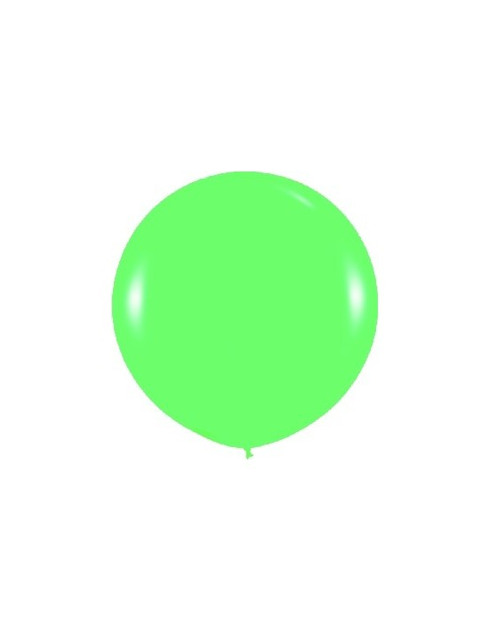 Bolsa de 10 globos sempertex r36 de 90 cm color fashion sólido verde (030) Sempertex Globos Redondos