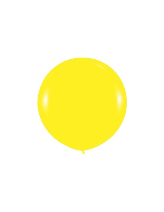 Bolsa de 10 globos sempertex r36 de 90 cm color fashion sólido amarillo (020) Sempertex Globos Redondos