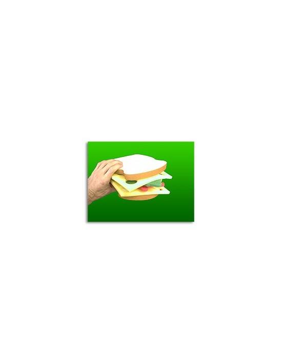 Sandwich gomaespuma Asdetrebol Magia Gomaespuma