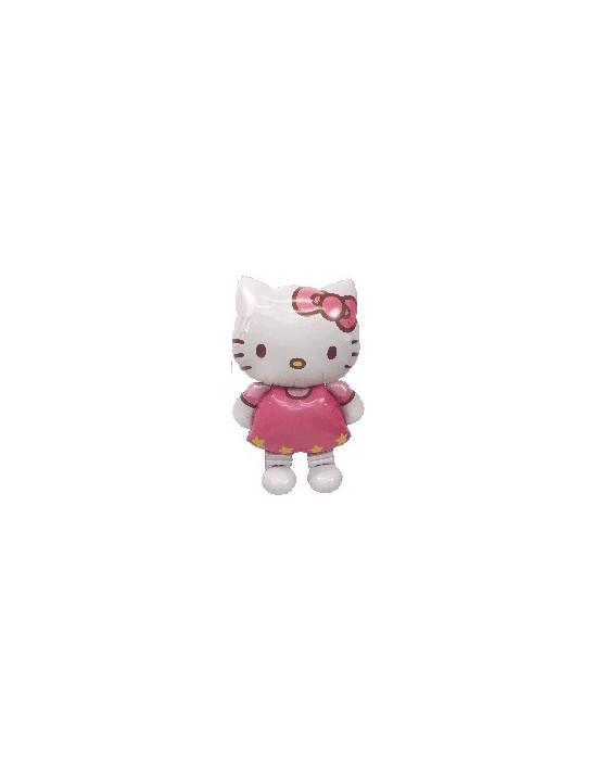 Globo foil airwalker gigante hello kitty 127 cm Anagram Globos Foil sólidos