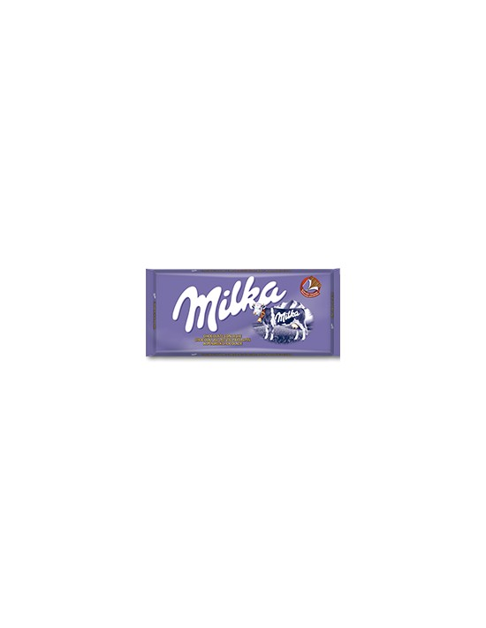 Tableta de chocolate milka con leche alpina 100 g Cadbury Con chocolate