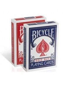 Baraja bicycle rider back 808 estuche antiguo dorso rojo US Playing Card Co. Póquer