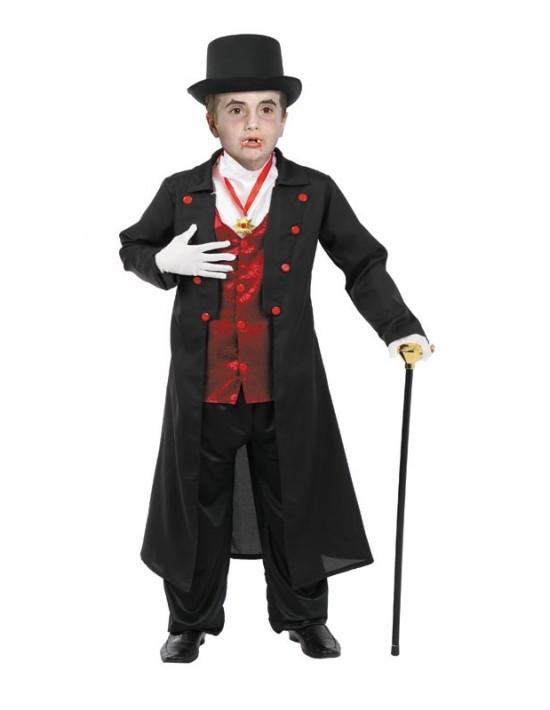 Disfraz de drácula talla 6 años Disfraces FCR Niño