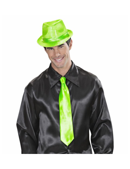Corbata satén naranja Widmann Pajaritas y corbatas