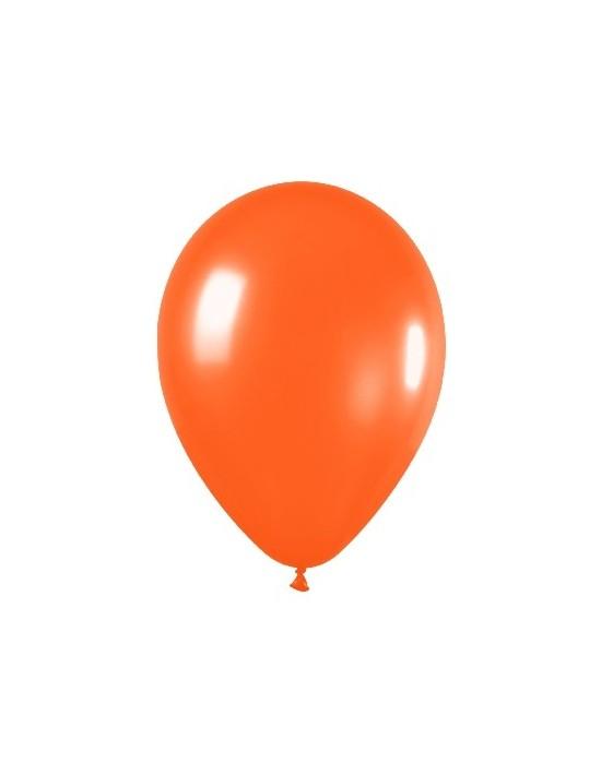 Bolsa de 100 globos sempertex r5 de 13 cm color metal naranja (561) Sempertex Globos Redondos