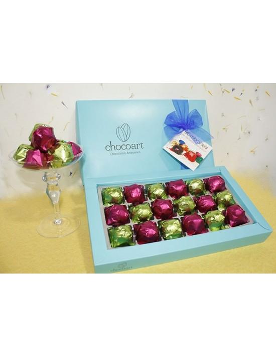 Bombones artesanales chocoart licor cereza y uva 430 g Chocoart Bombones