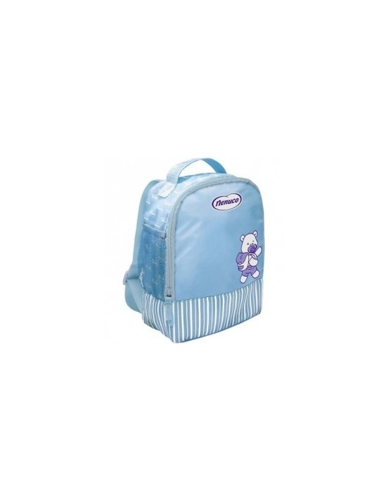 Mochila productos higiene bebé nenuco azul Genérico Higiene personal