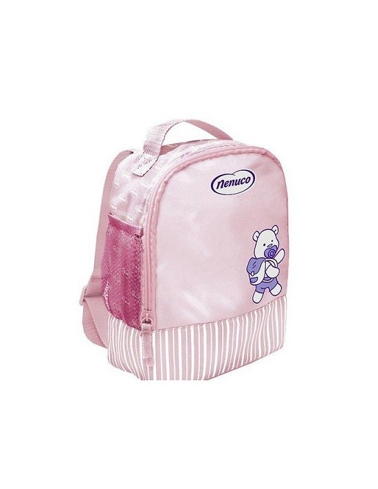 Mochila productos higiene bebé nenuco rosa Genérico Higiene personal