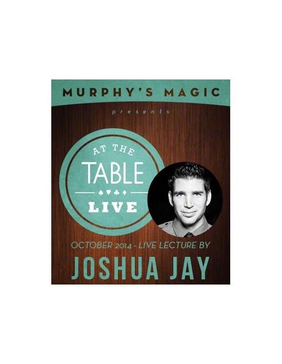 At the table live lecture - joshua jay 10/8/2014 - video download (descarga) Genérico Descargables