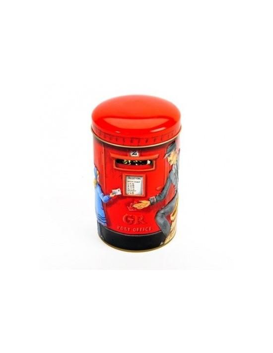 Lata de caramelos toffe inglés churchills post office hucha 200 g Churchills Caramelos