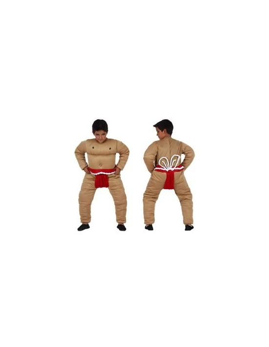 Disfraz luchador sumo talla 1 (3-4 años) Atosa Niño