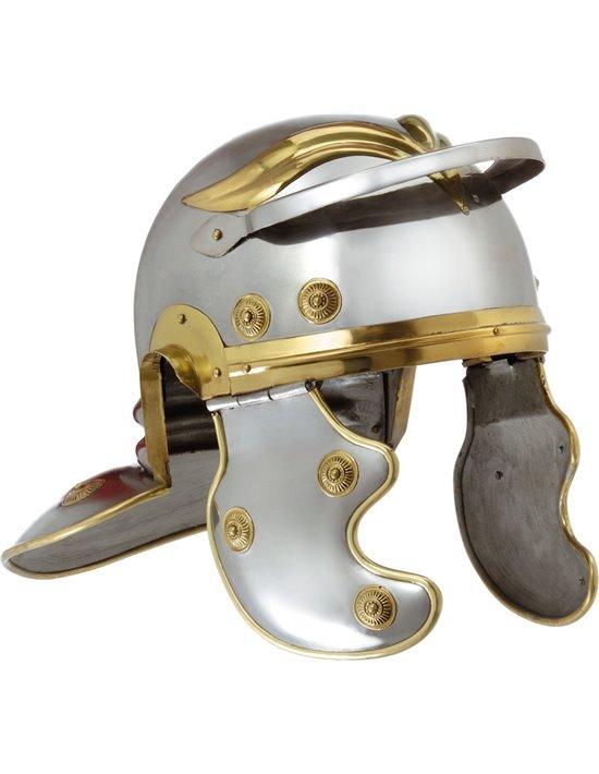 Casco romano de metal Disfraces FCR Sombreros