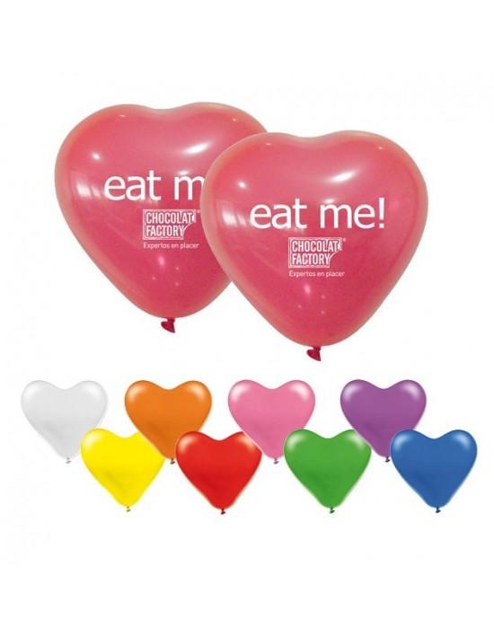 Globos para personalizar pastel con forma de corazón As De Trebol Globos personalizados