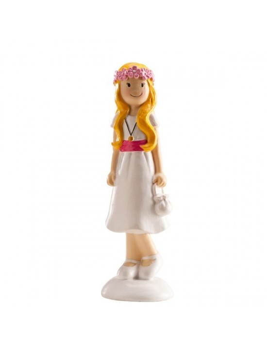 Figura pastel comunion niña As De Trebol Comuniones