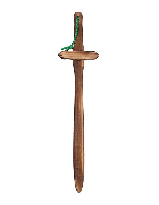 Espada de madera quemada Disfraces FCR Armas