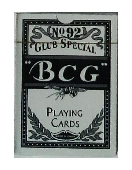 Baraja bcg póker azul Genérico Póquer